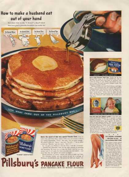 Pillsburys Pancake Flour Mix (1941)