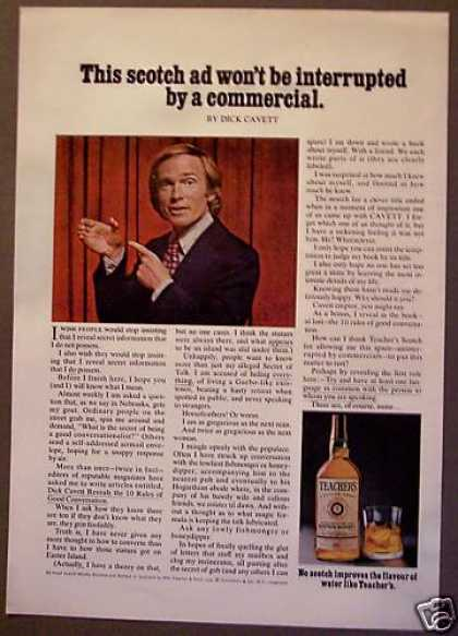 Teacher's Scotch Whisky Dick Cavett (1975)