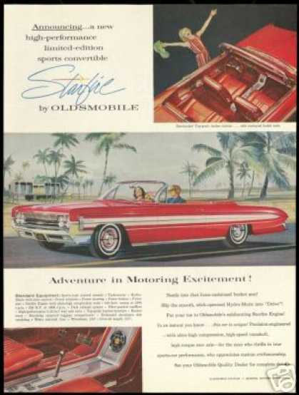 Oldsmobile Starfire Convertible Vintage (1961)