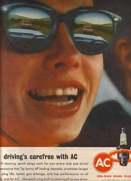 AC's Self-Cleaning Spark Plugs (1963)