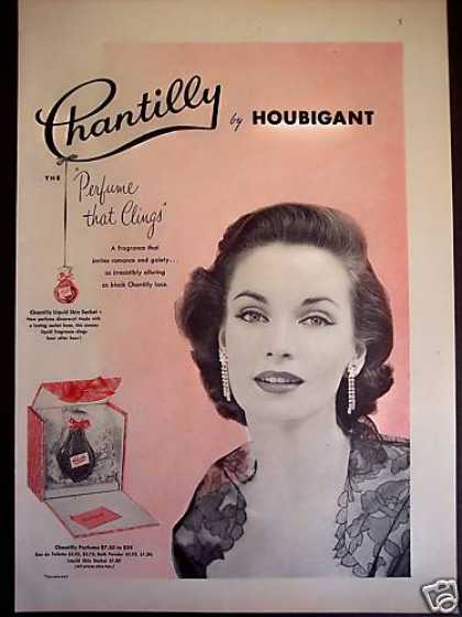 Chantilly By Houbigant Perfume (1953)