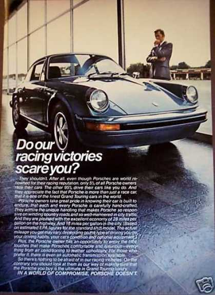 Porsche Grand Touring Luxury Sports Car (1975)