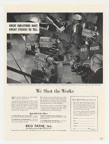 RKO Pathe NBC TV Camera Behind Your Radio Dial (1949)