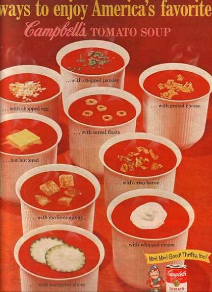 Campbell's Tomato Soup (1961)