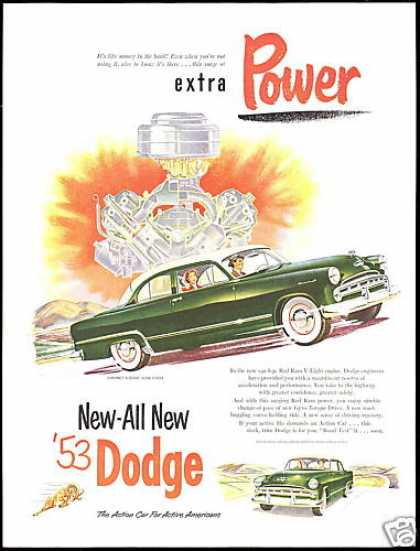 Dodge Coronet V8 Club Coupe Vintage Car (1953)