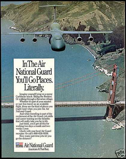 Air National Guard Recruiting Airplane (1994)