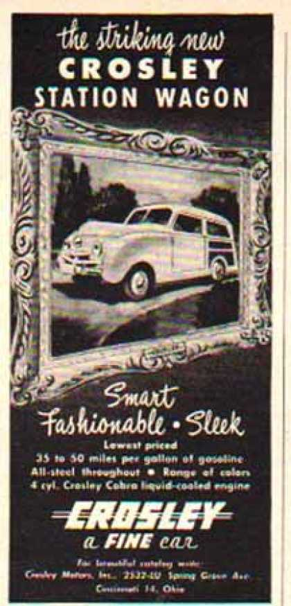 Crosley Car – Station Wagon (1948)