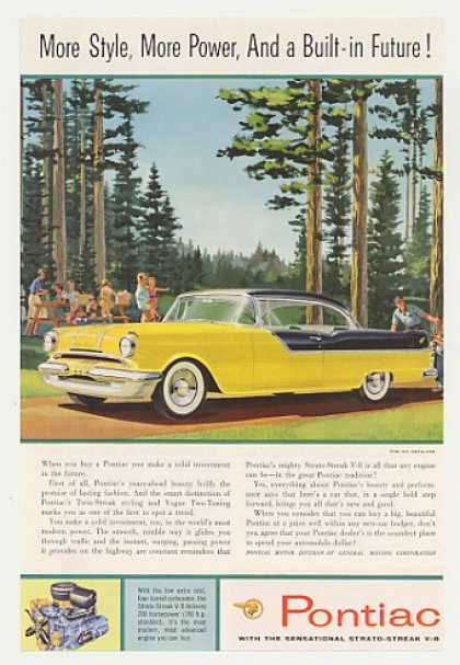 Pontiac 870 Catalina More Style More Power (1955)