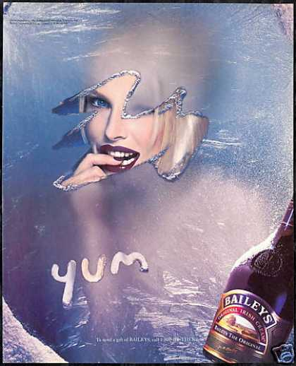 Baileys Irish Cream Liqueur Blue Eyes Blonde (1996)