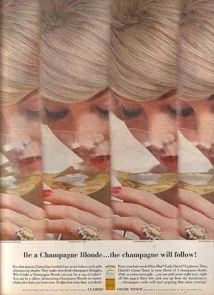 Clairol's Champagne Blonde (1963)