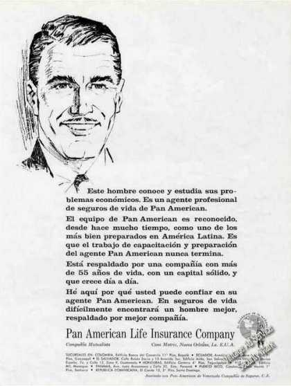 Pan American Life Insurance Spanish Language (1966)