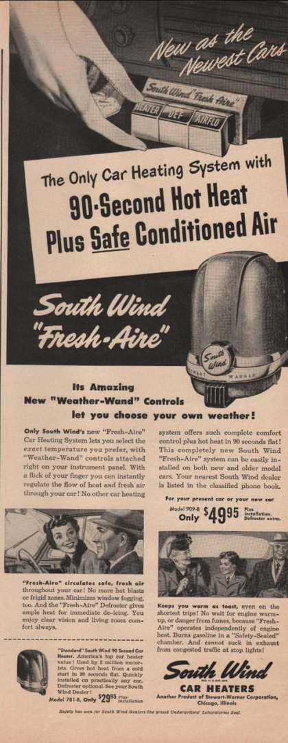 South Wind Car Heaters (1949)