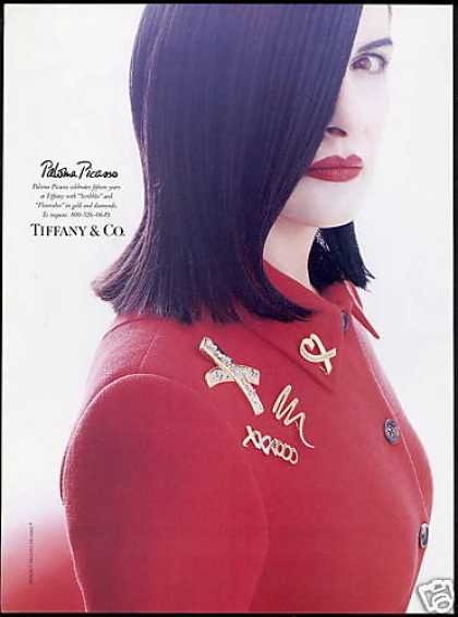 Paloma Picasso Photo Tiffany & Co Jewelry (1995)