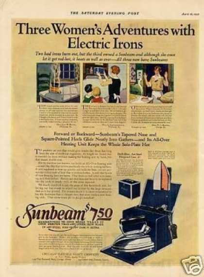 Sunbeam Iron Color (1925)