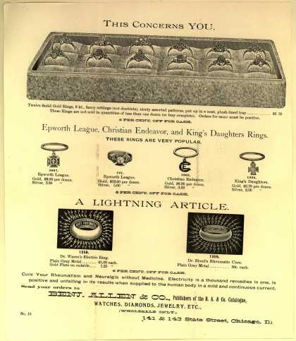 Benjamin Allen & Co.'s Dr. Blood's Rheumatic Cure – This Concerns You