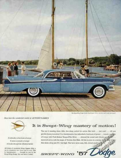 "Dodge Custom Royal Lancer ""Swept-wing Mastery"" (1957)"