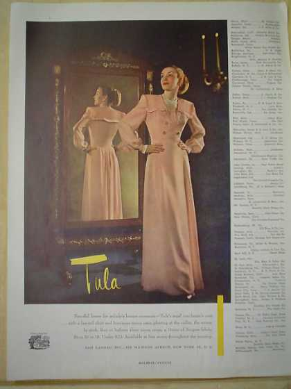 Sam Landau Inc Tula Dress Store Listing (1947)