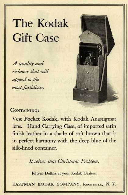 Kodak – The Kodak Gift case (1913)