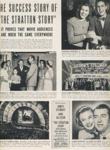 The Stratton Story (James Stewart and June Allyson) (1949)