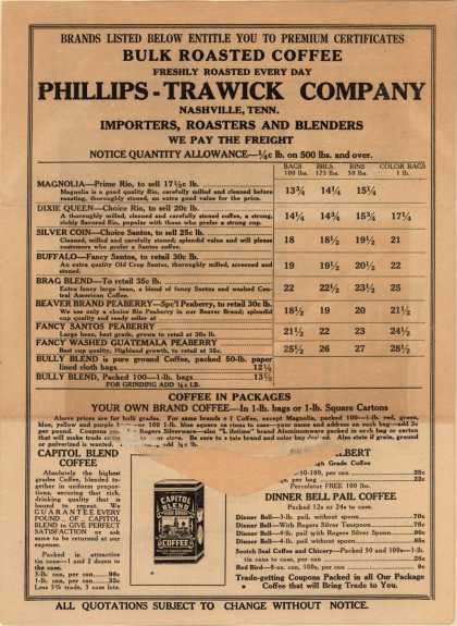 Phillips-Trawick Co.'s various – Phillips-Trawick Company