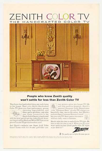 Zenith Valencia 6151H-U Color TV Television (1964)