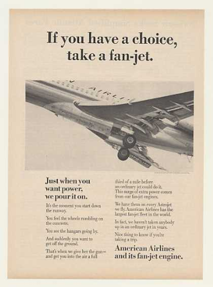 American Airlines Fan-Jet Astrojet Aircraft (1964)