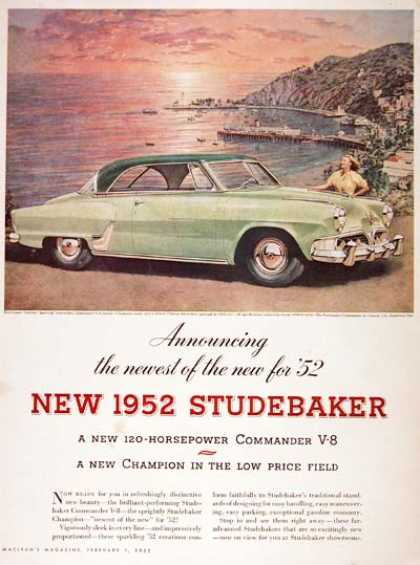 Studebaker Commander Coupe #1 (1952)