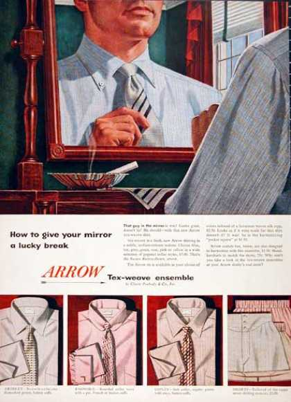 Arrow Shirts & Ties (1954)