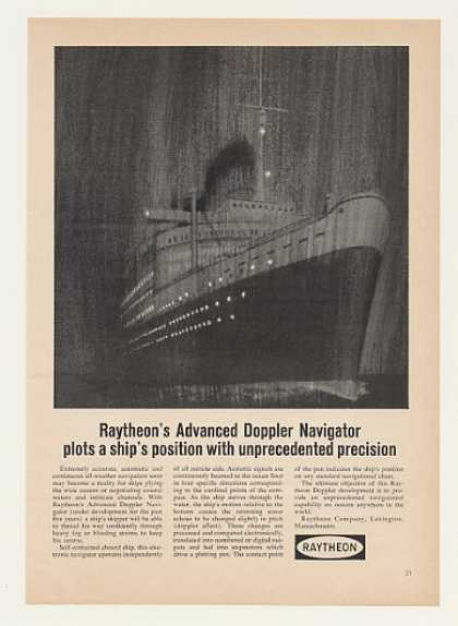 Raytheon Advanced Doppler Navigator Ship (1964)