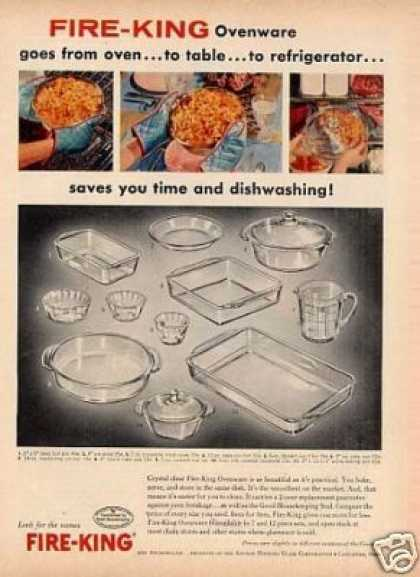 Fire-king Ovenware (1956)