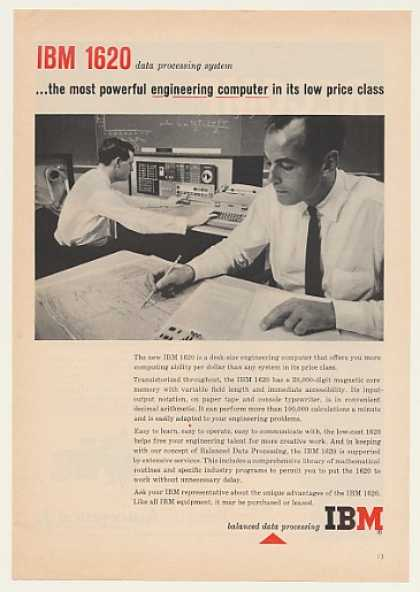 IBM 1620 Engineering Computer (1960)