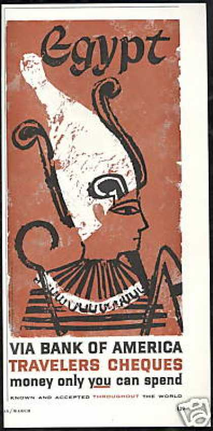 Egypt Art Bank of America (1960)