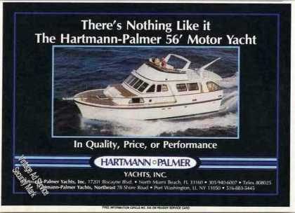 Hartmann-palmer 56' Motor Yacht Photo (1985)