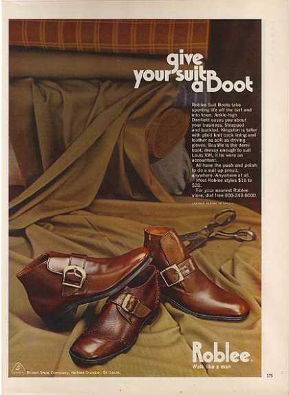 Roblee&#8217;s Suit Boots (1971)