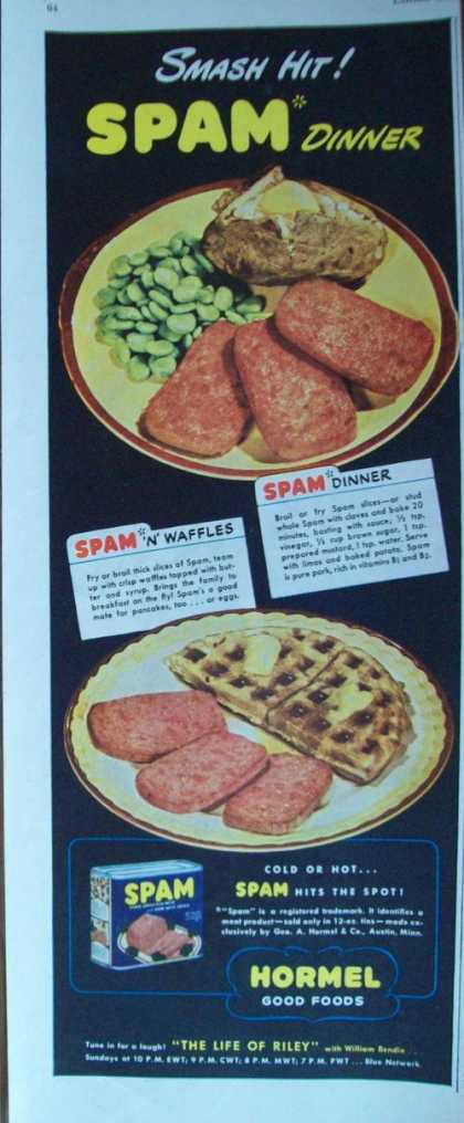 Smash Hit Spam Dinner (1944)