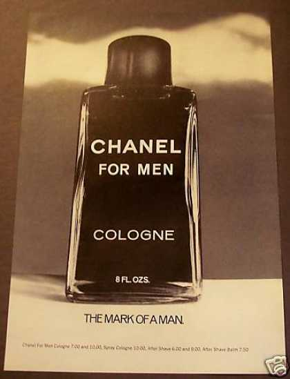 Chanel for Men Cologne (1975)