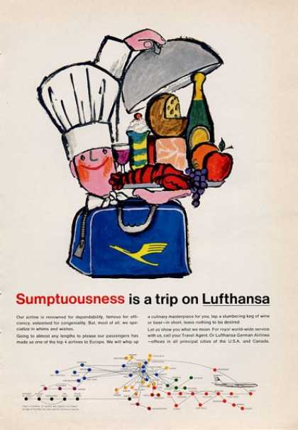 Lufthansa Airline Sumptuousness (1965)