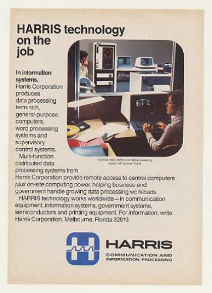 General Foods Harris 1680 Computer System (1980)