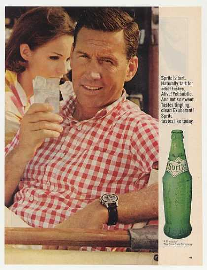 Sprite Soda Naturally Tart for Adult Taste Man (1964)