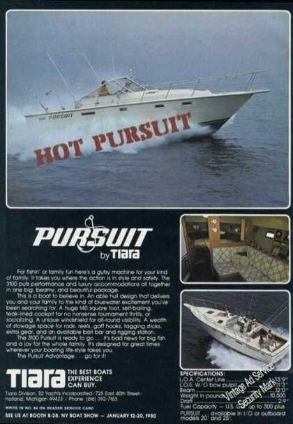 Pursuit 3100 By Tiara Photos Boat (1980)