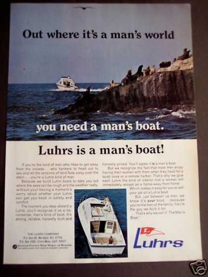 Luhrs Boats On the Water & Seals (1971)