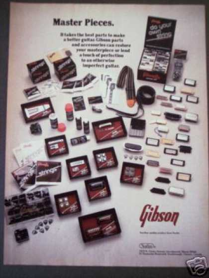 Gibson Guitar Parts Accessories Photo (1977)