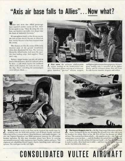 Consolidated Vultee Aircraft Large 2 Pg Wwii (1944)