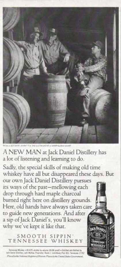 Jack Daniel's – A New Man at the Distillery (1990)