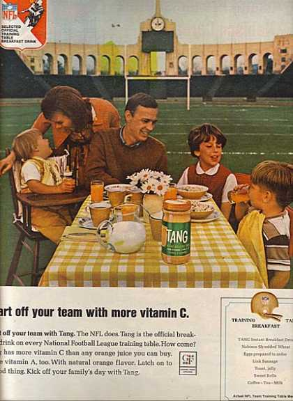 Tang's Instant Breakfast Drink (1966)