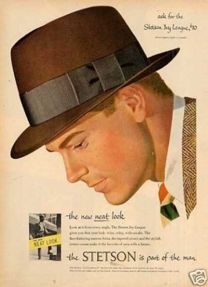 Stetson Ivy League Hat (1953)