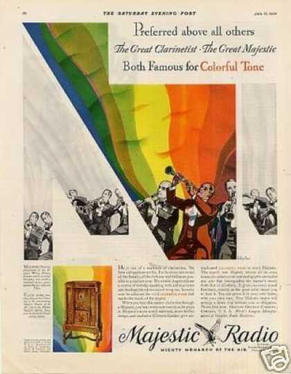 Majestic Radio Color (1930)