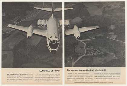 Lockheed JetStar Aircraft Photo 2-Page (1964)