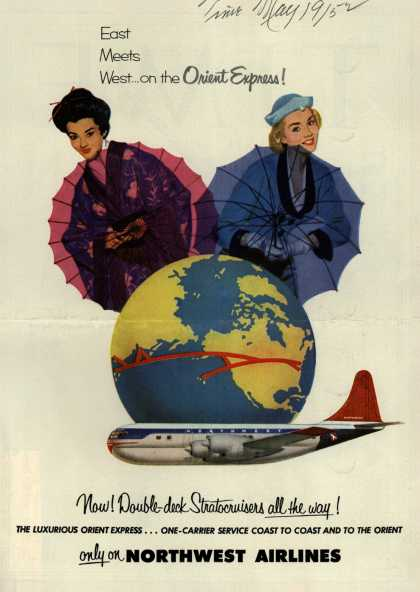 Northwest Airline's Orient Express – East Meets West... on the Orient Express (1952)