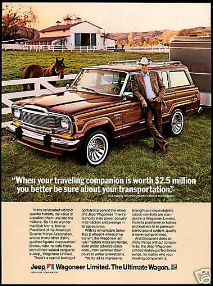 Jeep Wagoneer Limited American Quarter Horse (1983)